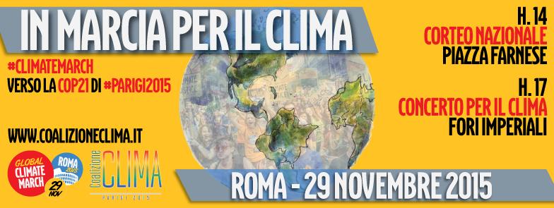 Copertina Marcia per il clima